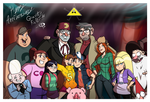 5th Anniversary of Gravity Falls by Chillguydraws