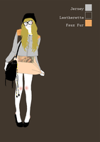 faux fur jacket by Effi-illustrations