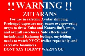 Zutara warning by SilverDragonMaiden