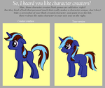 Character Creator Meme by AskLithuaniaPony