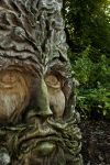 Green Man Sculpture by Xs9nake