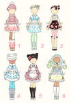 Outfit adopts (closed) by SilverChaim