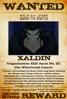 Wanted: Xaldin by gttorres