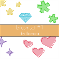 PSP Brush Set One. by flamora