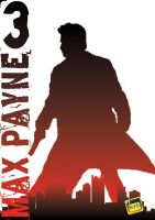 MAX PAYNE 3 IN BLACK AND RED by Christos85k