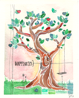 Happiness by Ellesh