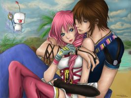Serah x Noel - Your Warmth by EwelinaMalke