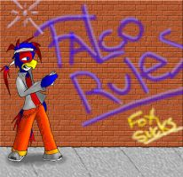 Falco Rules by MidNight-Vixen