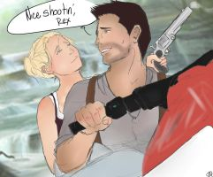 UNCHARTED: Nice Shootin', Rex by awesome-o-clock
