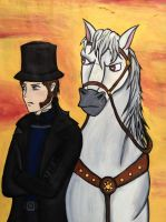 Javert's Finest Steed by Zaphoid13