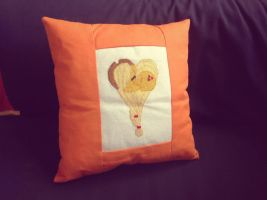 Applejack Pony Pillow by RufousCat
