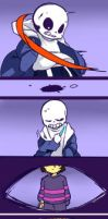 undertale-first half-01 by kuzukago