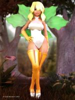 Woodland Fairy (2013) by larsmidnatt