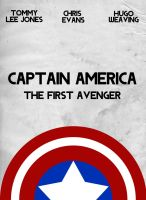 Captain America - Movie Poster by joaood