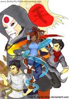 The Legend of Korra by Butterfly-Hime
