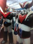 Mazinger Z statues by thereanimatedunknown