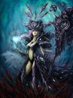 Witch of the Chaos by nibelwolf