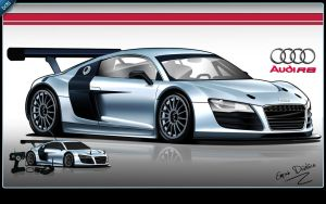 NoxiouS DesigN Audi R8 TooN by noxiousdesign