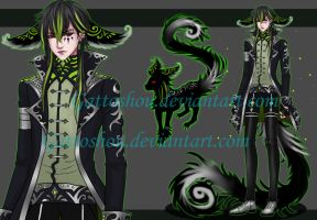 MALE ADOPT 138 [Auction] [CLOSED] by GattoAdopts