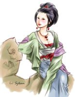 Chinese Lady by Sylemn