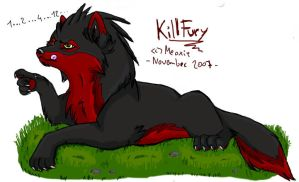 .: KillFury want to count..:. by Meoxie