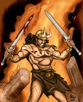 Conan COLORED by thaddeous