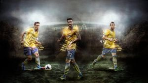 389. Arsenal The Magical Trio by RGB7