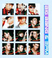 big bang and 2PM icons by gseungRi