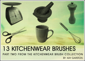 KITCHENWEAR BRUSH COLLECTION-2 by Special-K-001