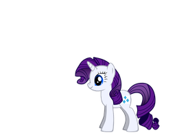 Rarity the pony by Sissy16