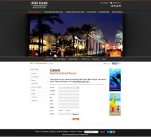 Reef Oasis Hotels and Resorts - Careers Form Page by MaiEltouny