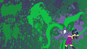 Mane-iac Splatter Wallpaper by brightrai