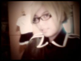 APH America wearing germany's clothes XD by TheTwistedWonderland