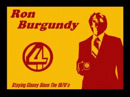 Ron Burgundy by MitchMerriweather18