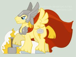 pony!Thor by clockways