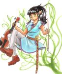 Elf and her Fiddle by hopelessromantic721