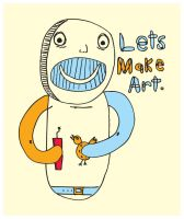 Let's Make Art by dugebag