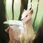 [Personal] Etheral Deer by Fillyflight