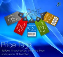 Price tags for online shop by khatrijiya