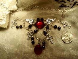 The vampire hunter-necklace by Destinyfall