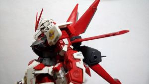 HG Gundam Astray Red Frame by CLeRu087