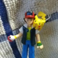 my Ash and Pikachu figures by Nintendo-Lover-Kat