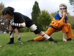 Naruto and Sasuke-On A Mission by KellyJane