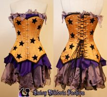 Corseted Faerie Dress by DaisyViktoria