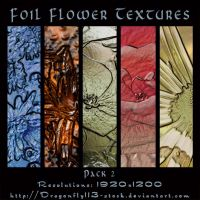 Foil Flower Textures Pack 2 by BFstock