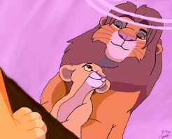 Kiara and Simba: You Raise Me Up by xx5arahxx