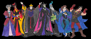 Redesigned Disney Villains Wave One Compilation by UGAvillain