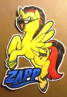 Zapp the Gamer badge by onnanoko