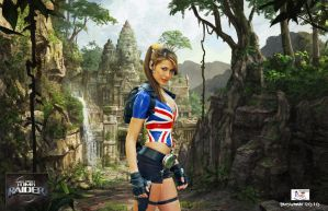 Lara Croft - England Rules by TheSnowman10