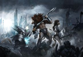 Battle Beast by bergamind